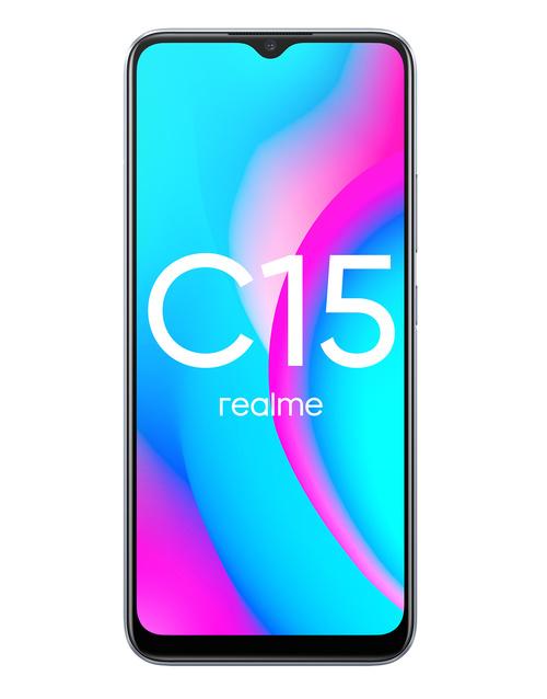 Realme C15 4/64GB Silver - 2