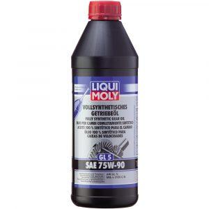 Liqui Moly-Sürətlər qutusu üçün yağ Vollsynthetisches Getriebeöl GL5 SAE 75W-90 1414