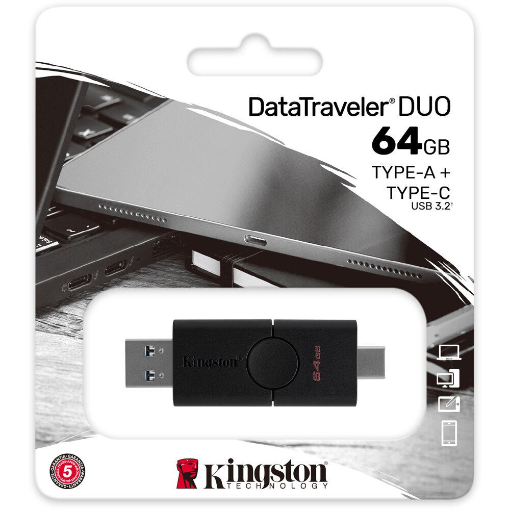 Fleş kart Kingston 64GB Duo / DTDE/64GB-N  - 4