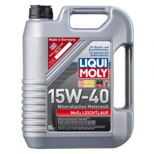 Liqui moly Моторное масло MoS2 Leichtlauf Super Motoroil 15W-40 LM2571/1933