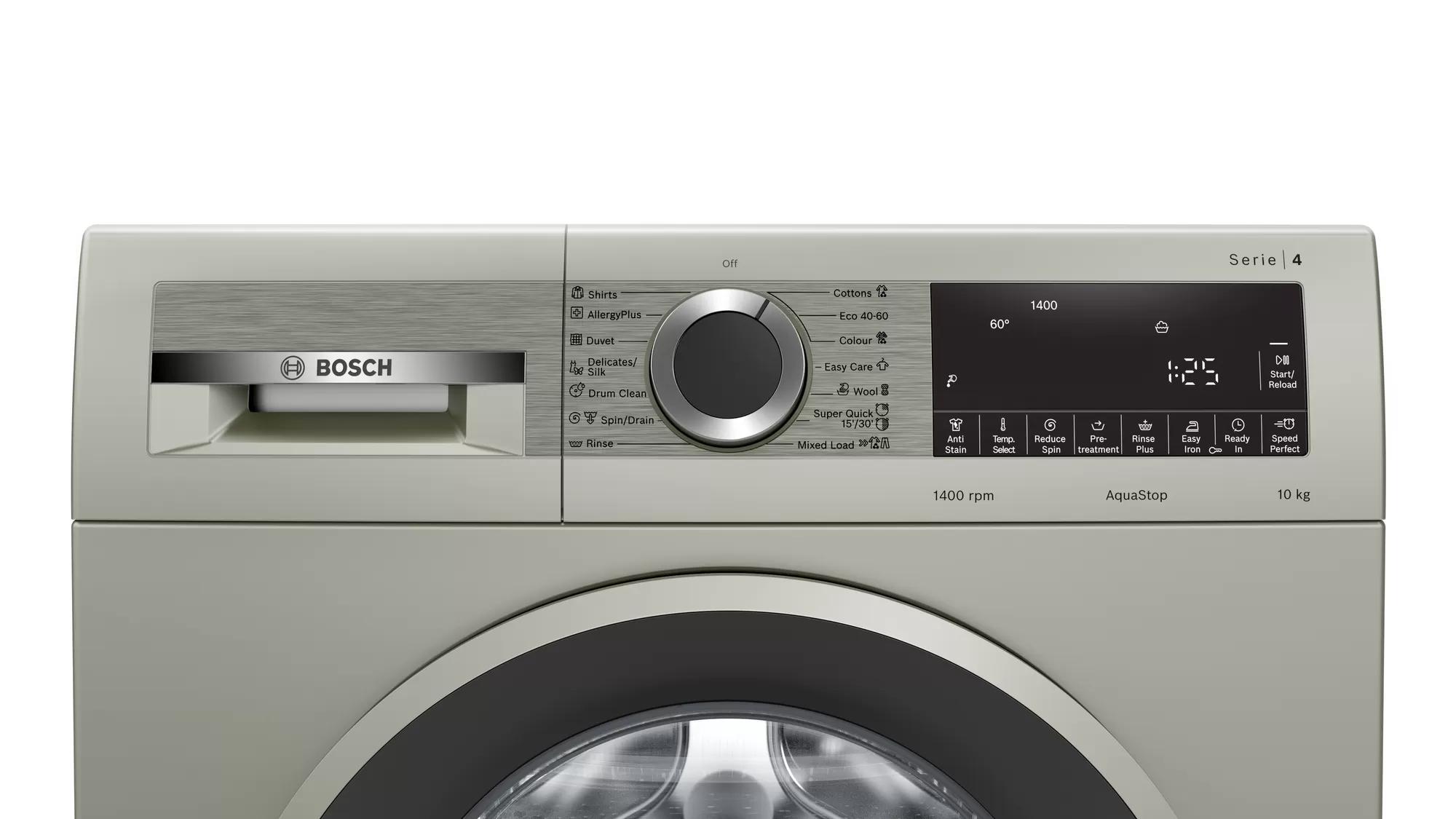 Стиральная машина  Bosch WGA254XVME (Серебряный )  - 4