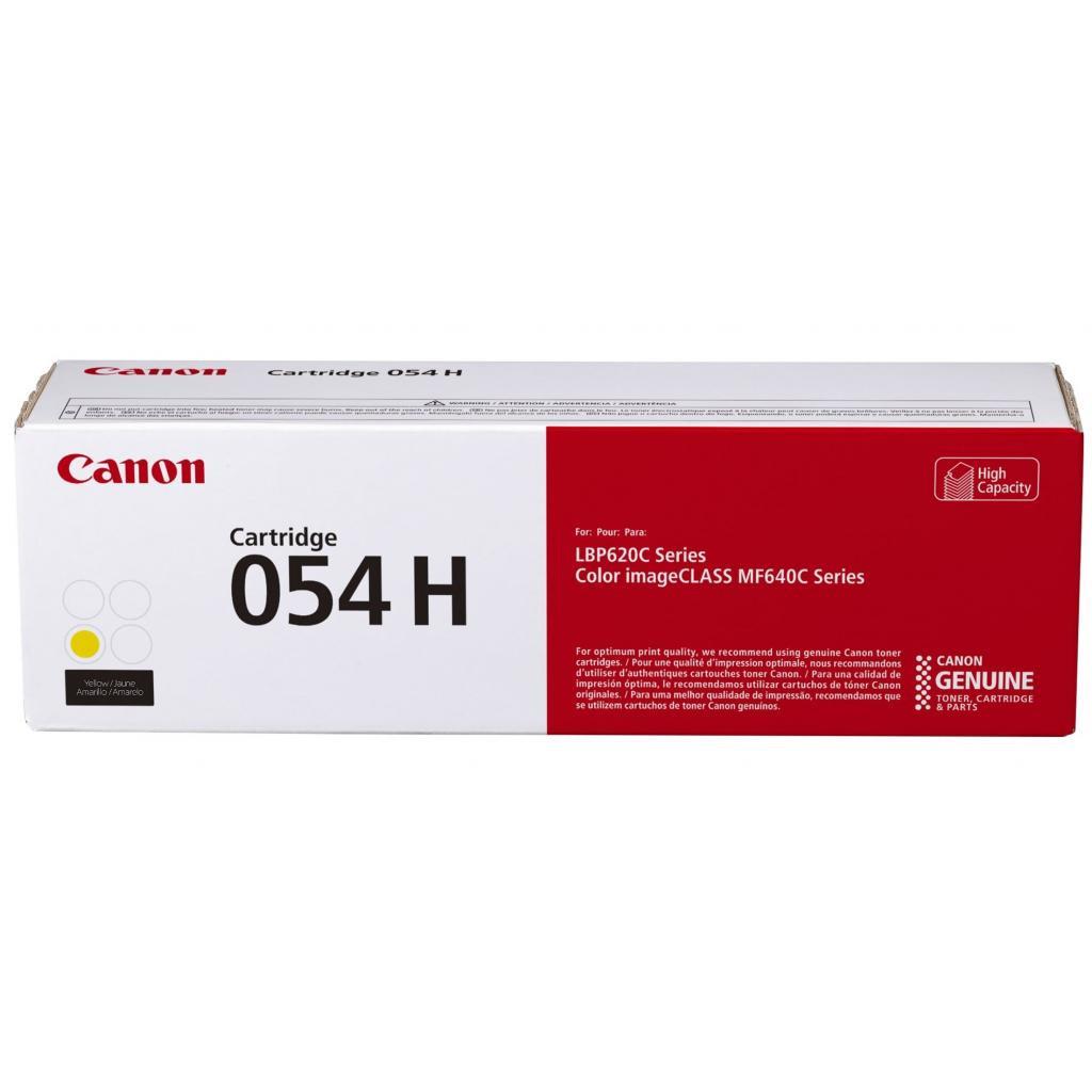 Картридж Canon LBP CRG054 Y (3021C002)  - 2