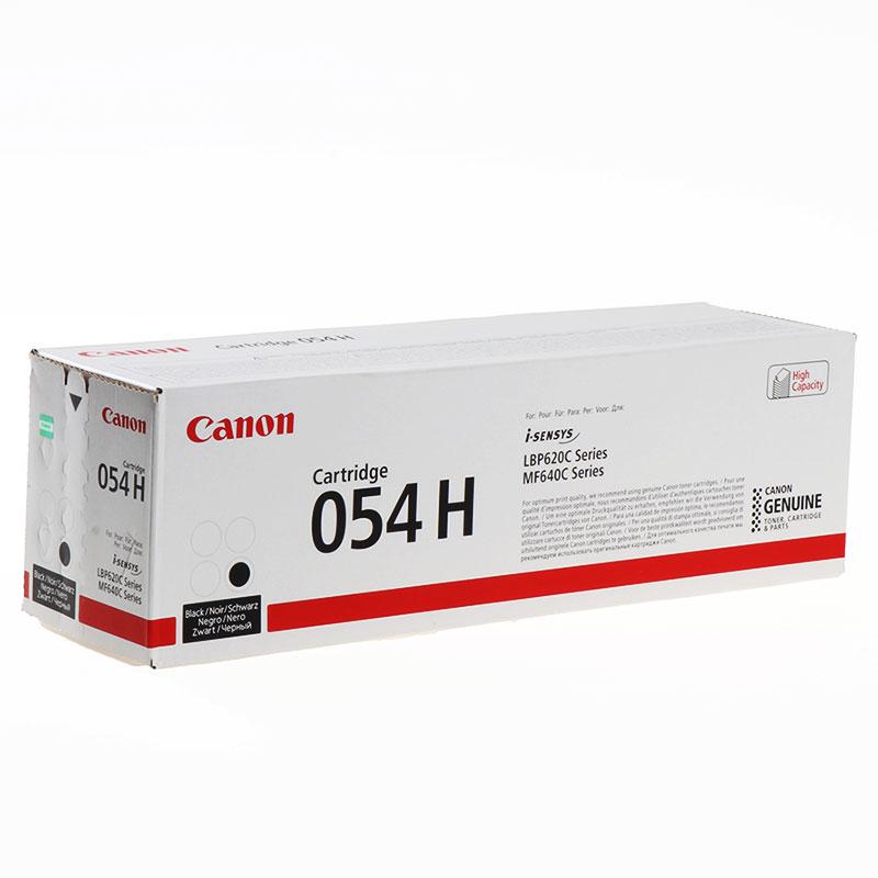 Картридж Canon LBP CRG054 H Bk (3028C002)  - 1