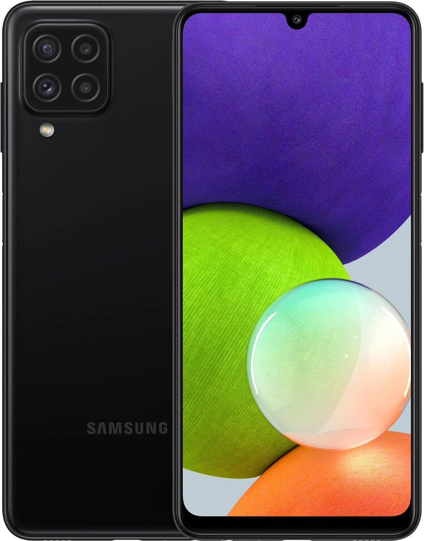 Samsung Galaxy A22 DS (SM-A225) 128GB Black - 1
