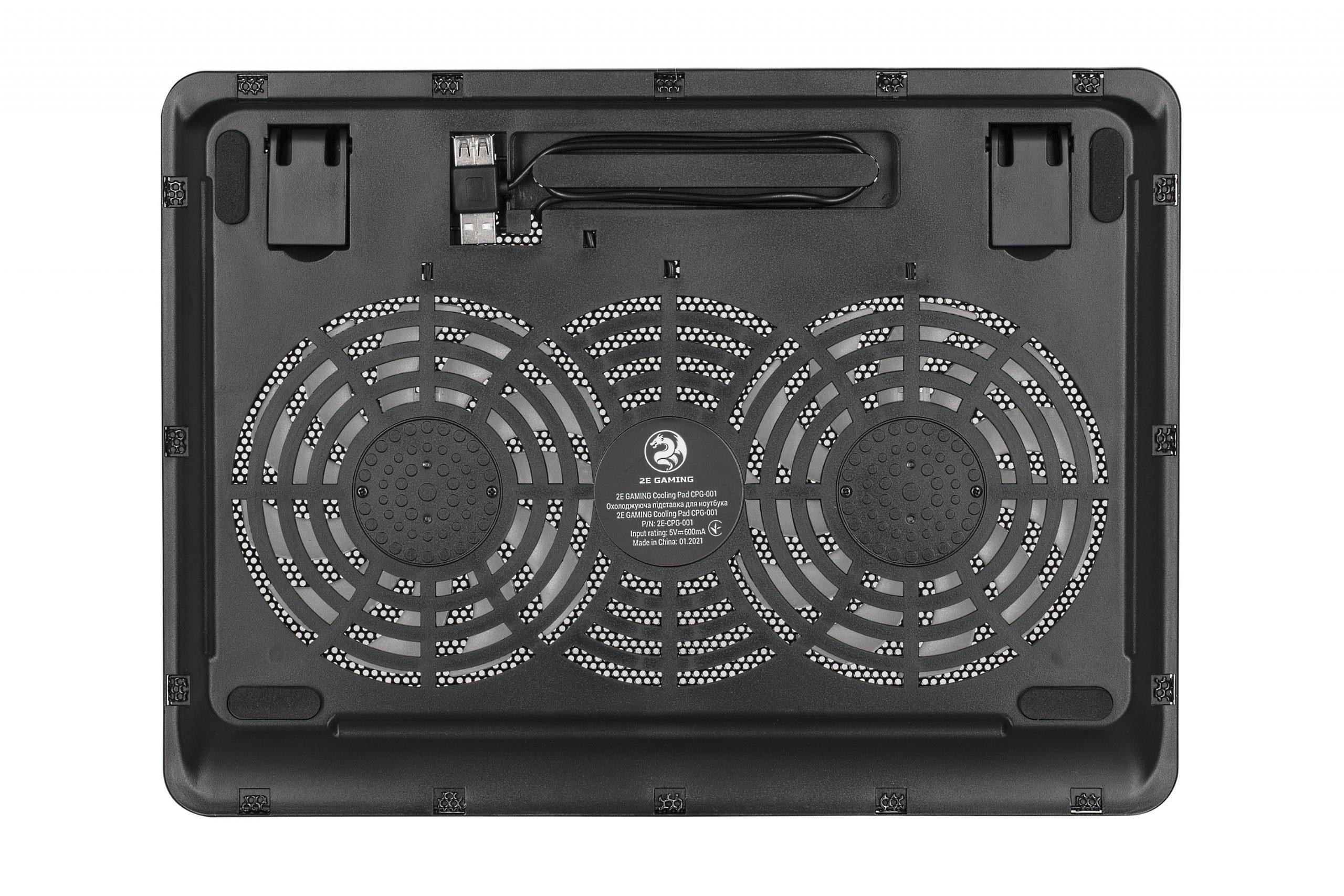 Cooling Pad 2E-CPG-001 Black  - 4