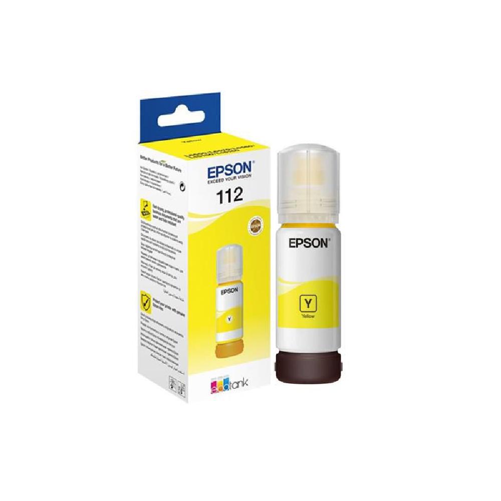 Картридж Epson 112 Yellow Ink Bottle (C13T06C44A)  - 1