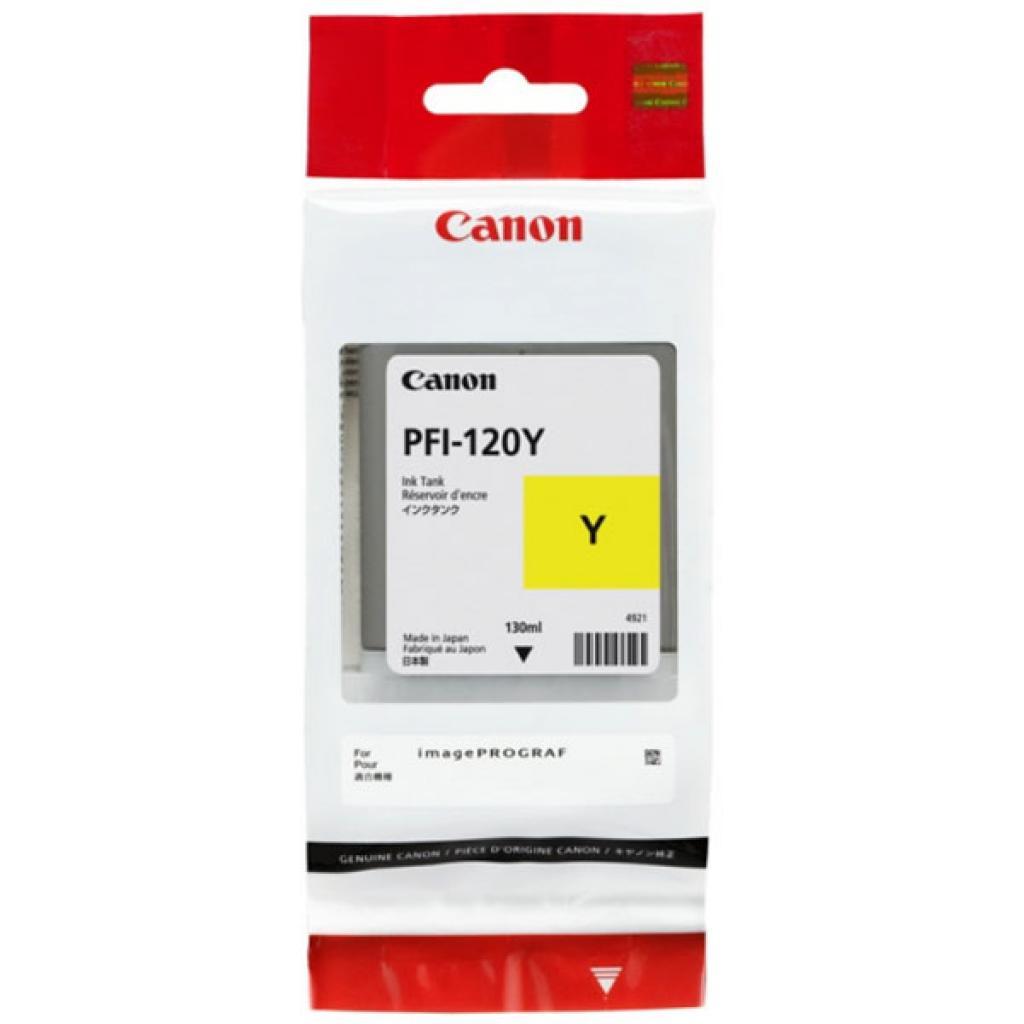 Картридж Canon PFI-120 Yellow (2888C001AA)  - 1