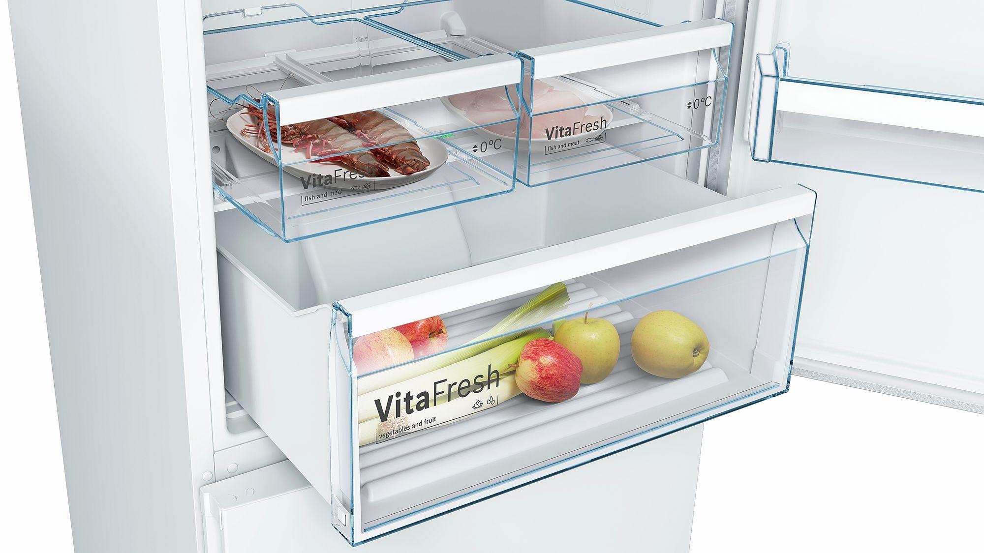 Холодильник Bosch KGN49XW30U (Белый)  - 4