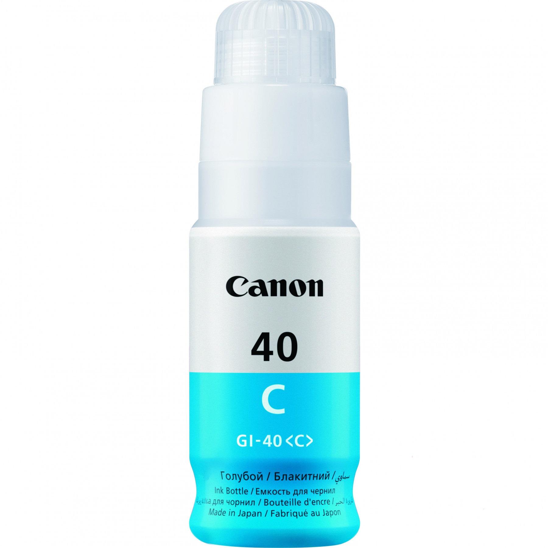 Картридж Canon INK GI-40 C (3400C001)  - 1