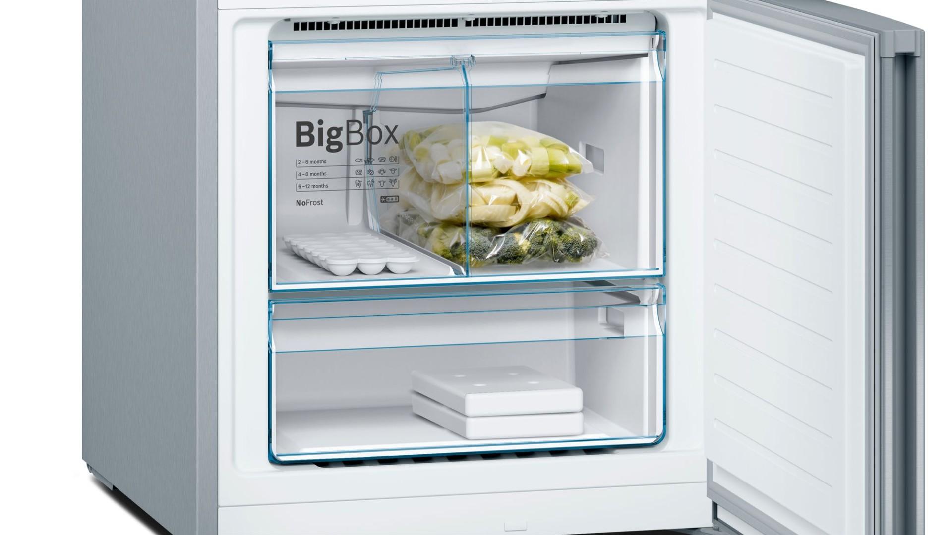 Холодильник Bosch KGN56VI30U (Серебряный )  - 3