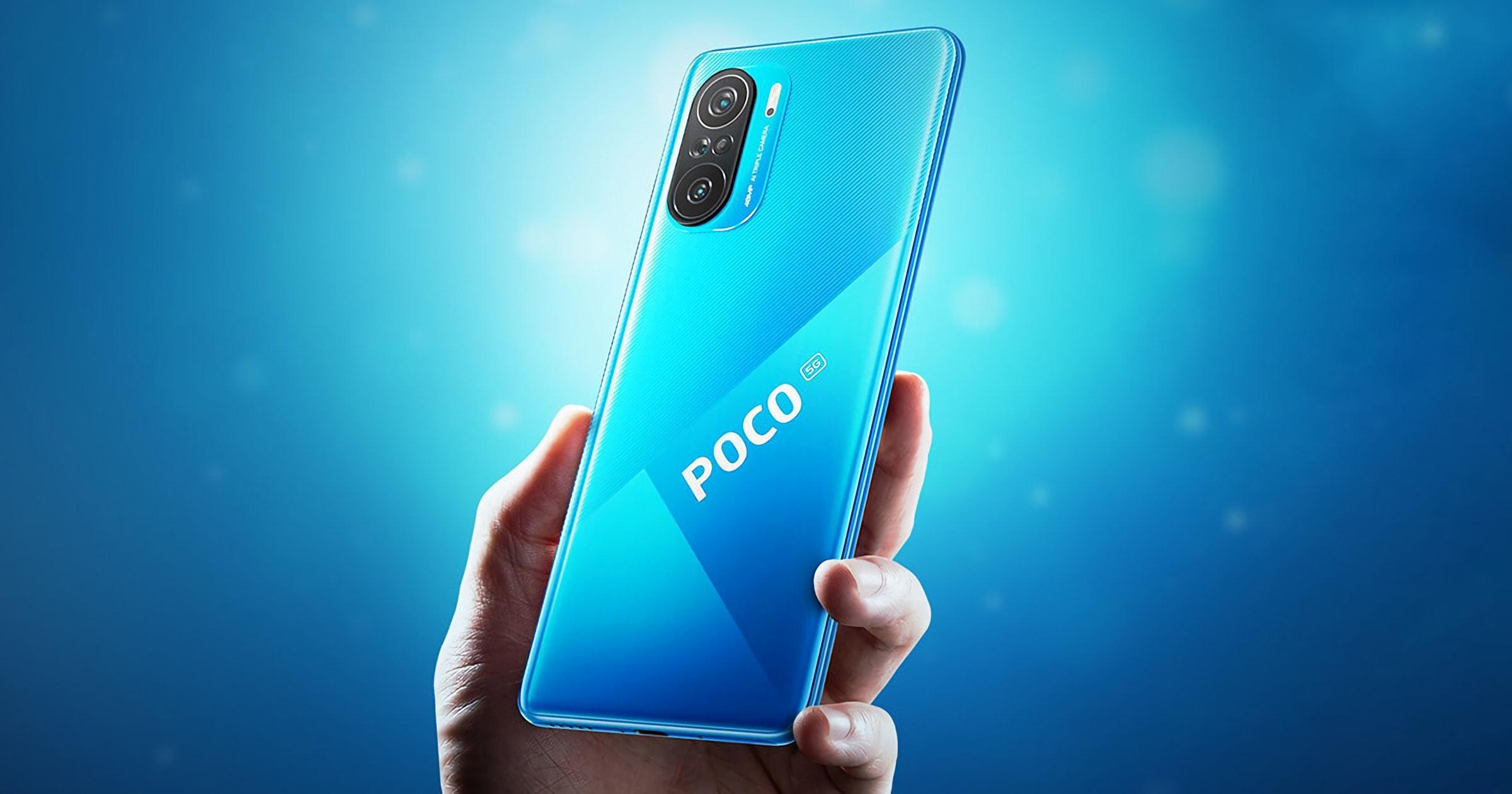 Xiaomi Poco F3 6/128GB Blue - 5